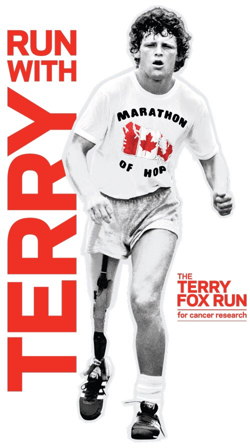 Thank you from the Terry Fox Foundation