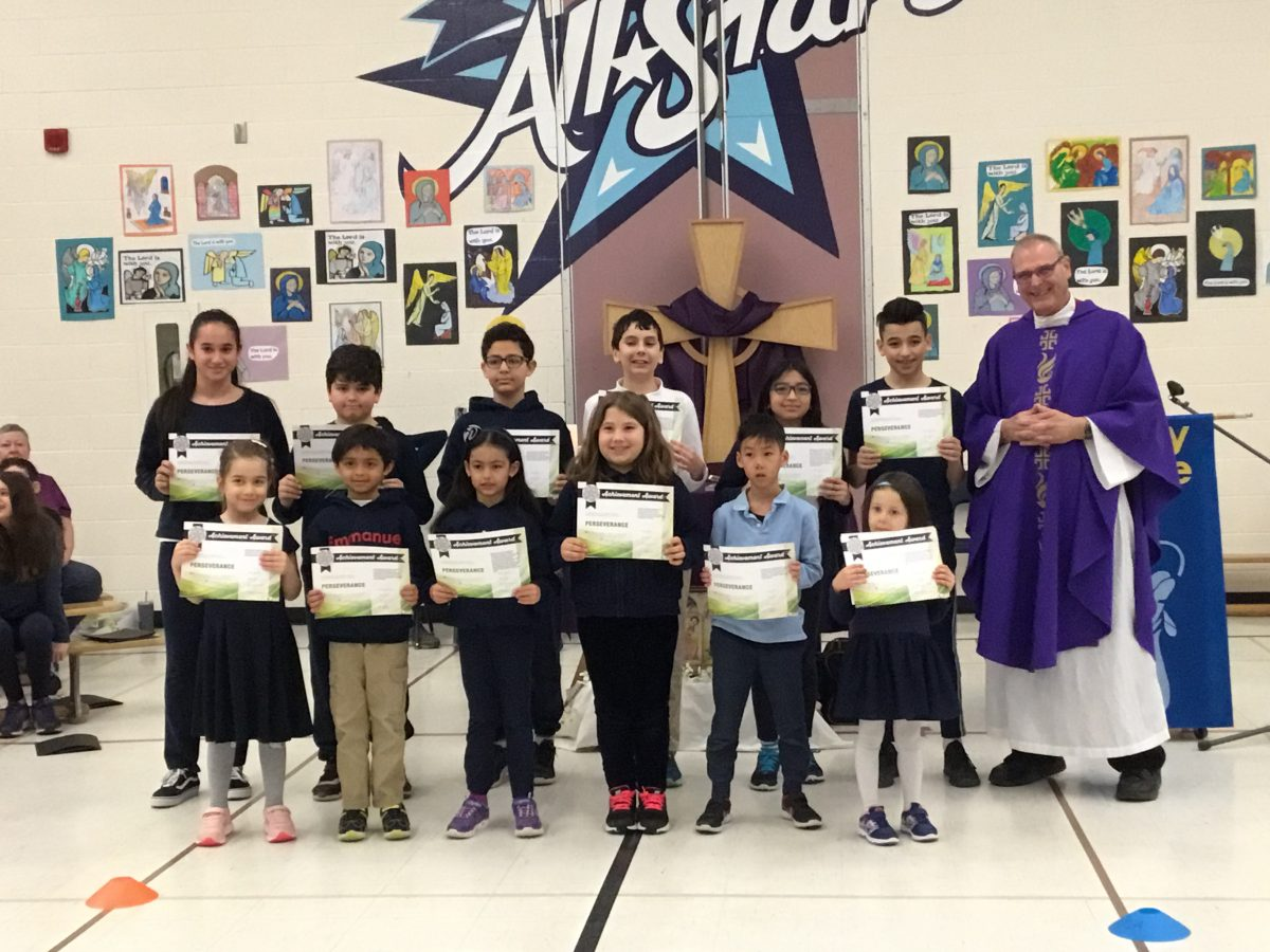 Students Who Demonstrated the Virtue Perseverance