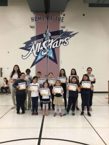 Students Who Demonstrated the Virtue Reverence